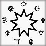 Bahais believe that all the worlds religions can be traced back to one all powerful god.