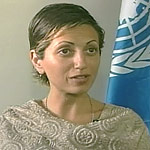 Lina Abirafeh, United Nations