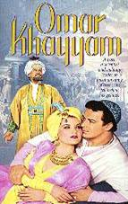Hollywood depiction of Omar Khayyam.