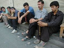 Iran - Unemployed workers, 2007
