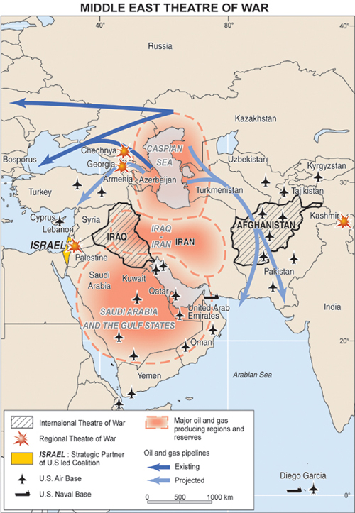 ko792daci map of middle east and europe