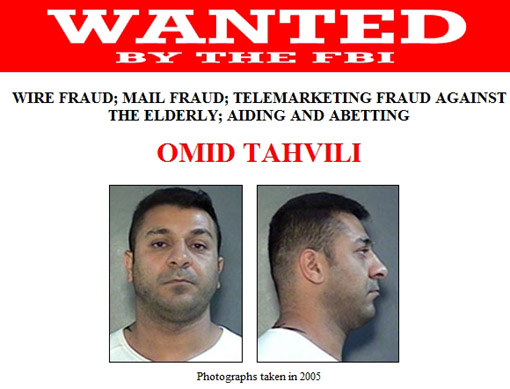 Achievement? Iranian Gangster in Canada Makes a Most Wanted List