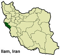 Archaeologists Planning For Irans Largest Rescue Excavation At - Ilam map