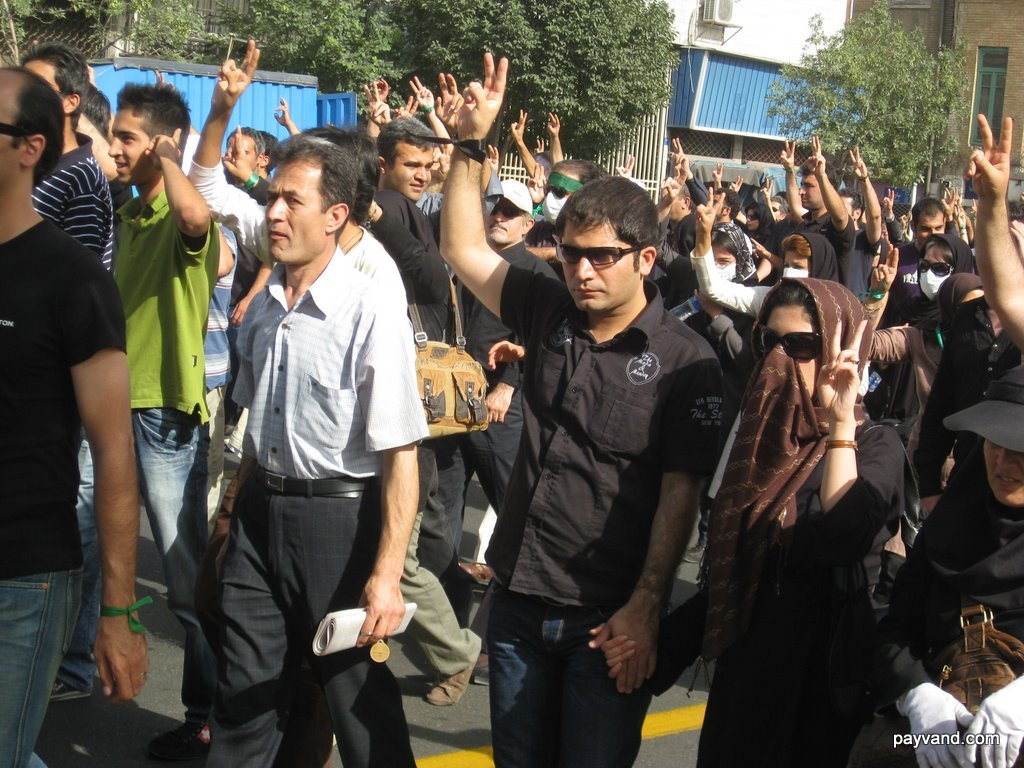 Photos June 18 Election Protests In Tehran People The