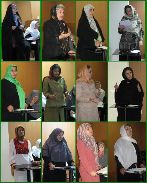 The Green Convergence: Third Session of Iranian Women's Movement Gathering