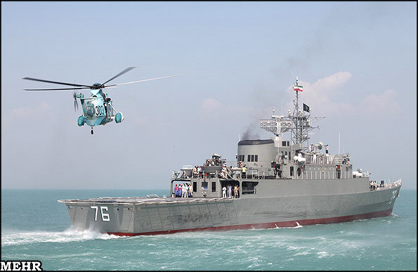 Iran's Jamaran destroyer