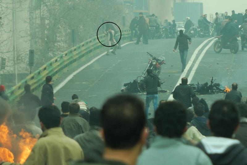 ... Iran's government claimed that another amateur video clip, ...