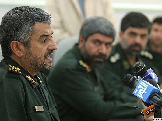 Revolutionary Guard chief General Mohammad Ali Jafari
