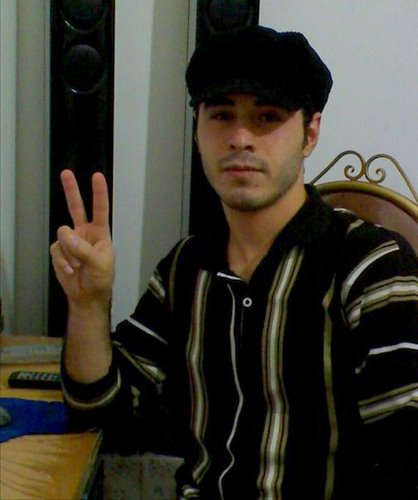 Imprisoned Iranian blogger Hossein Ronaghi Maleki