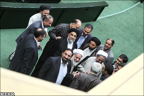 group of Iranian MPs