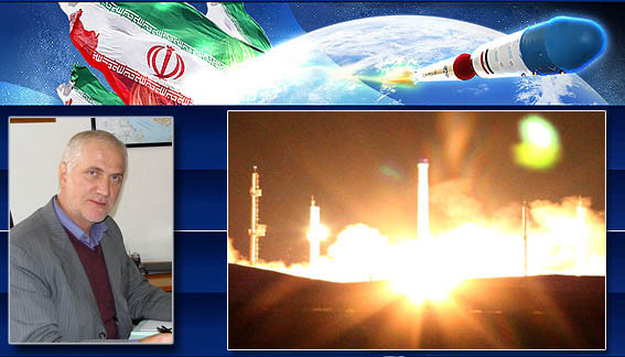 Head of Iranian Space Agency (ISA), Hamid Fazeli