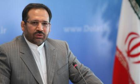 Iran's Economic Affairs Minister Shamseddin Hosseini