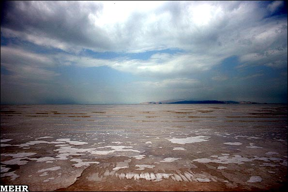 Sharafkhaneh Port, Lake Urmia, Iran