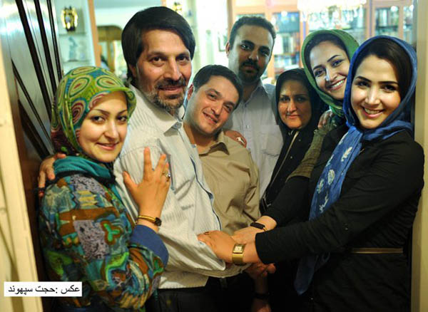 Emadeddin Baghi after he was released from Evin