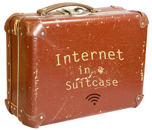 Internet in s suitcase