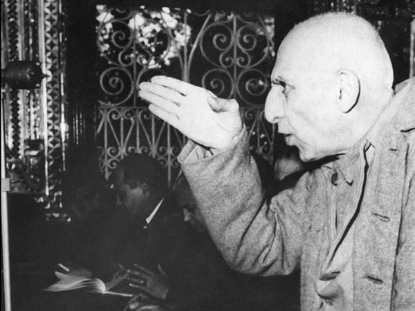 Mohammad Mossadegh in court - November 20, 1953