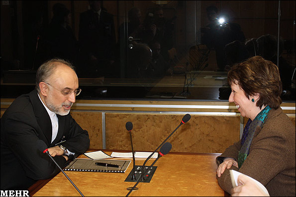 Salehi meets Ashton