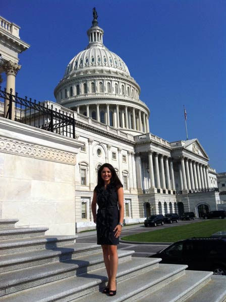 Nazanin Tondravi at the Capitol