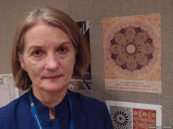 Sheila Canby, the curator in charge of the Department of Islamic Art at the Met in New York