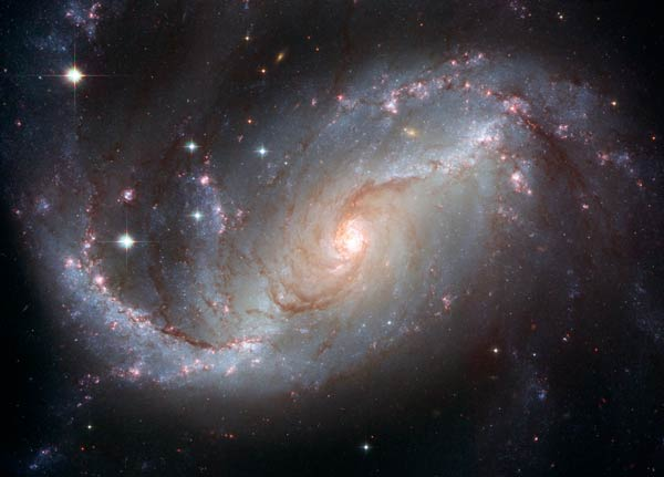 The spiral galaxy NGC 1672