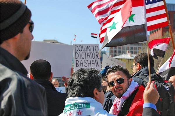 Syrian protesters
