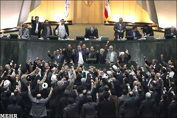 A group of Iranian lawmakers
