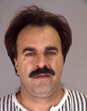 Manssor Arbabsiar pictured in a mugshot from a 2001 arrest for theft