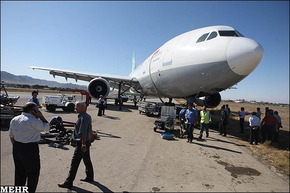 Mehran Air plane accident in Mashhad, Iran