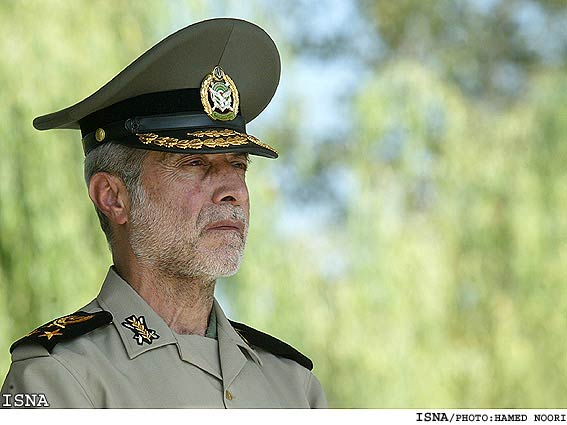 Iranian army chief Ataollah Salehi