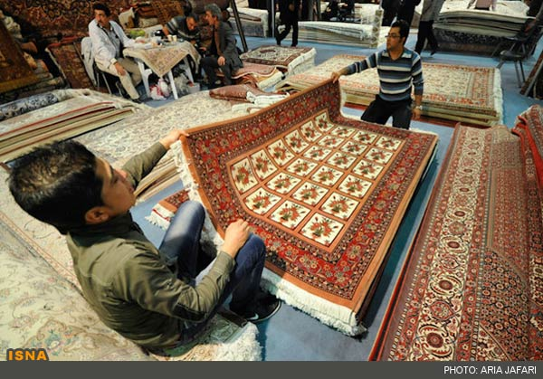 Photos Persian Carpet Exhibition In Isfahan