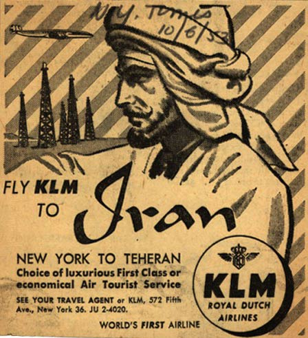 iran air ticket