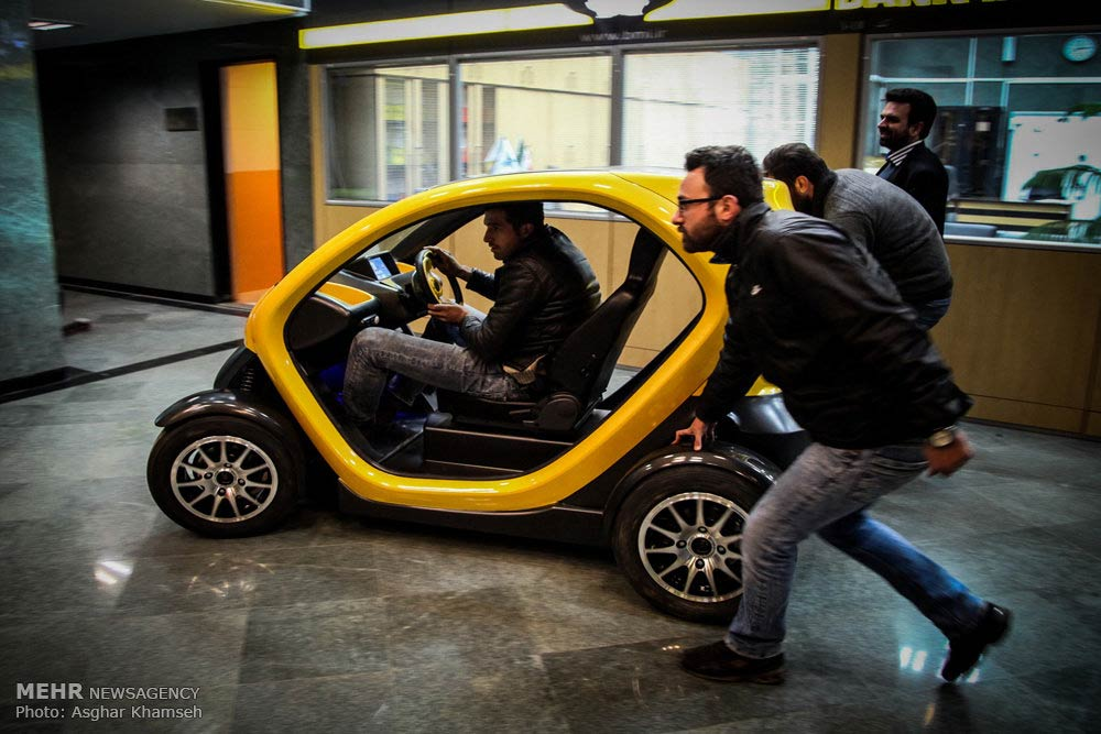 Photos Iranian Two Seat Electric Vehicle Unveiled