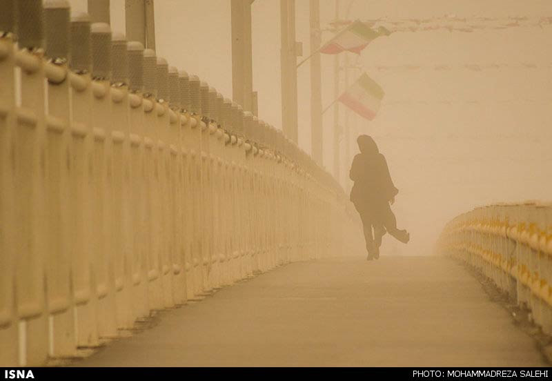 photos  ahvaz air pollution gets worse beyond measure