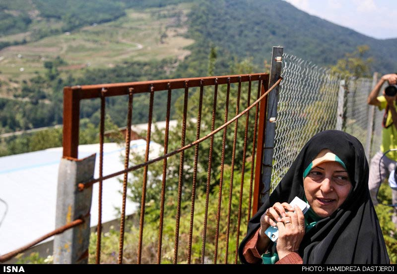 Photos: Iranian Green Protesters Circle Forest During Environment Chief's Visit