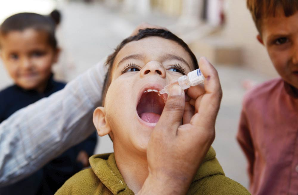 iran on verge of eliminating polio health official