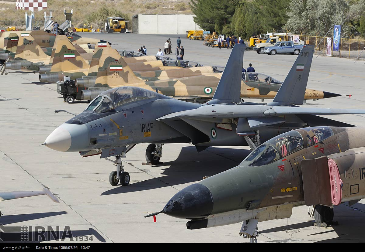 Photos Iran Air Force Begins Large Scale Drills In Isfahan