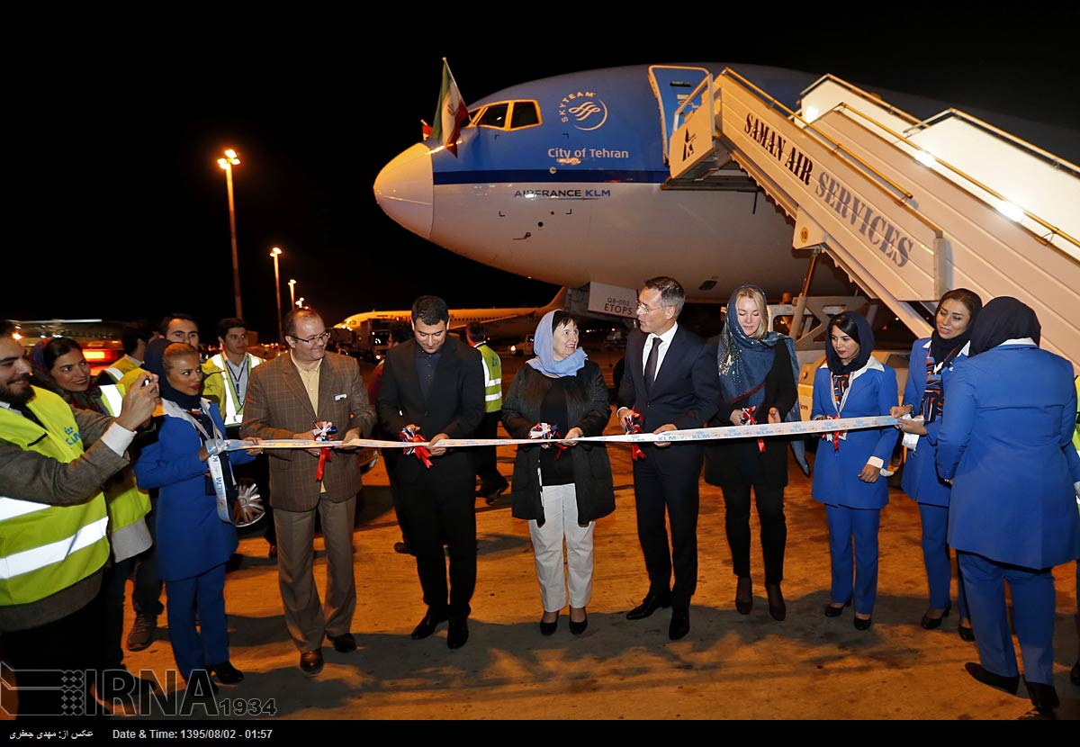KLM Airlines resumes flights to Iran