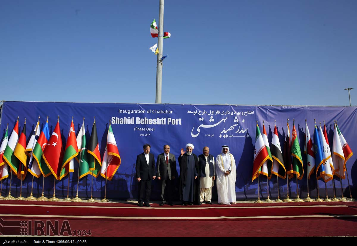 Iran launches commercial port in Oman Sea