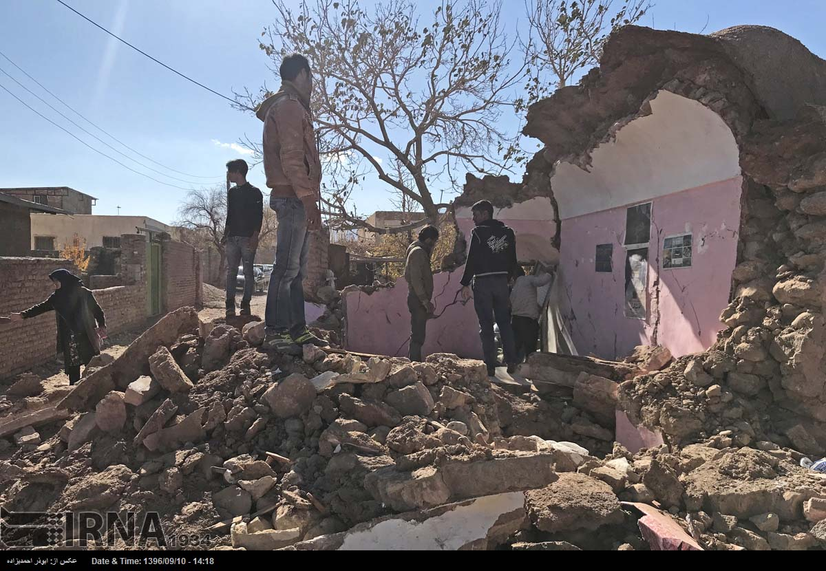 Strong quake jolts sparsely populated Iran; no damage