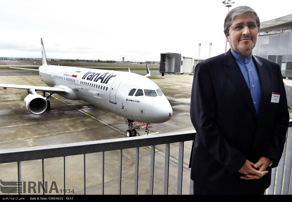 Iran Air takes delivery of its first new-build Western aircraft