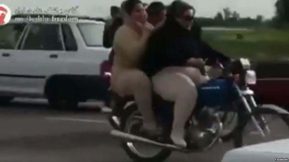 Iranian Women Arrested for Riding Motorcycle; Video Fuels Backlash