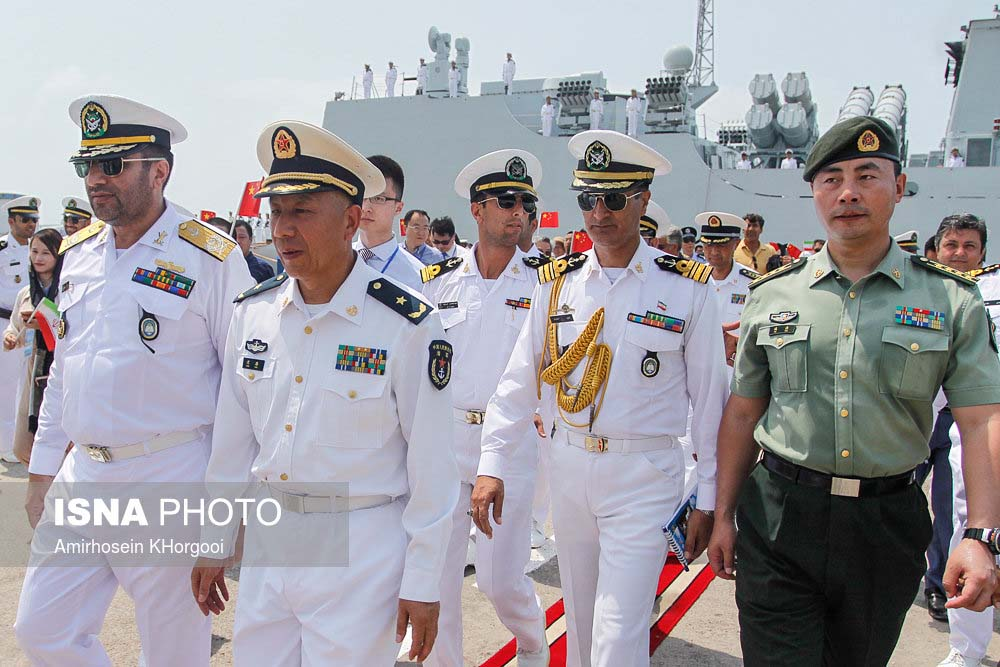 Iran, China hold joint naval drill in Persian Gulf