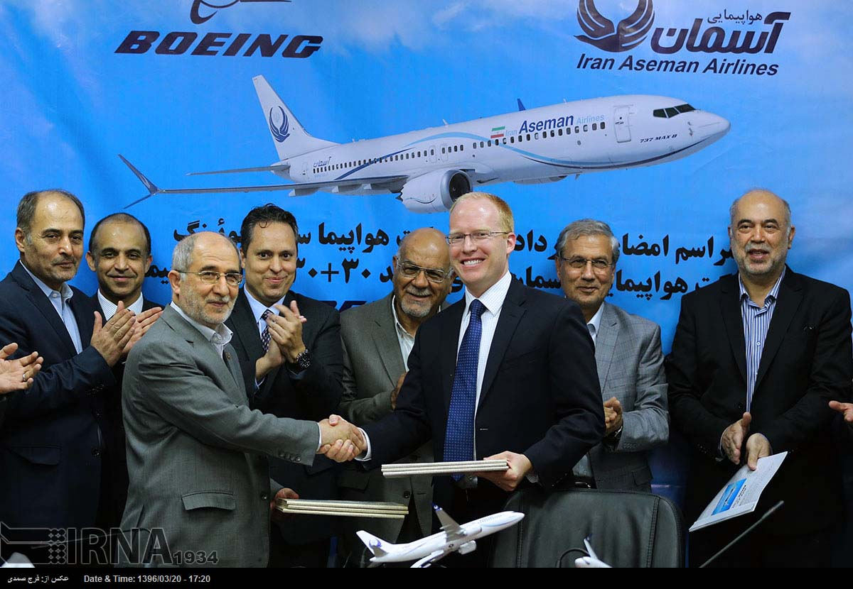 United States may stop Boeing and Airbus jetliner sales to Iran