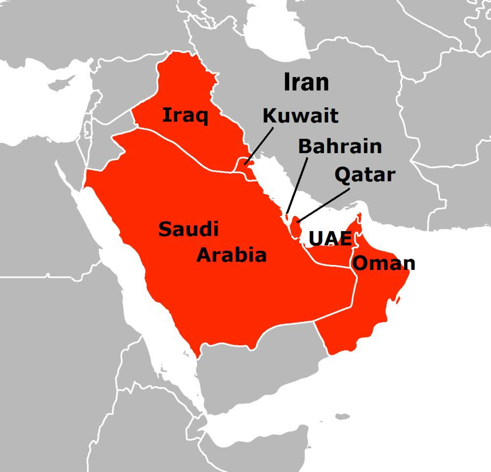 Saudi Arabia UAE Bahrain And Egypt Cut Ties With Qatar - Map of egypt and uae