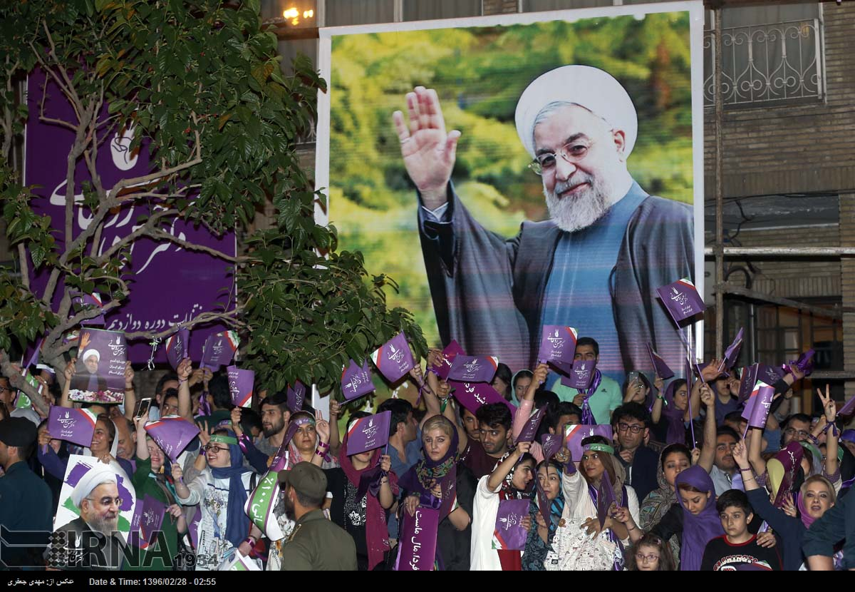 Iranian Judiciary Forbids Campaigners From Printing Rouhani's Criticism of Revolutionary Guard