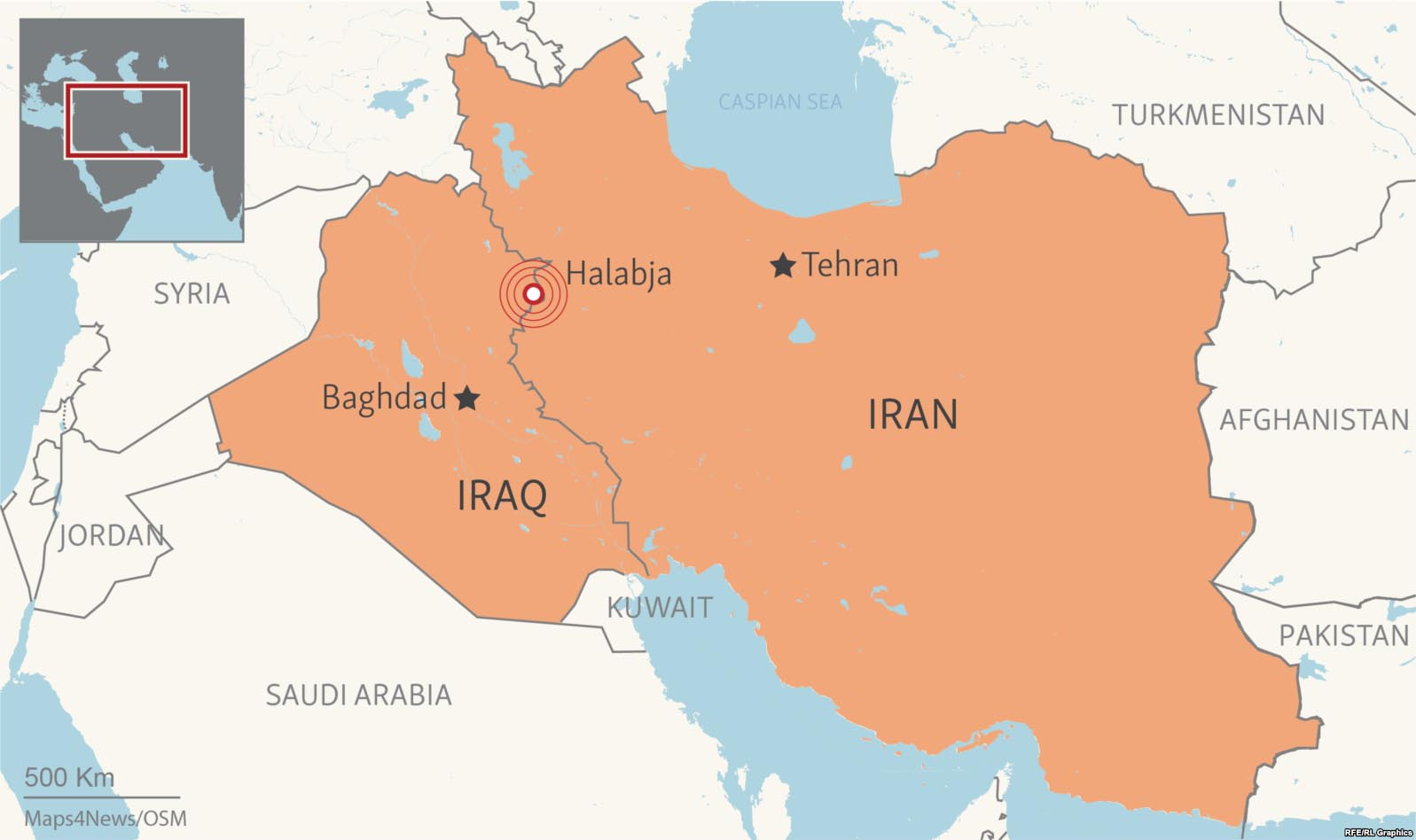 iran iraq border hit by series of moderate earthquakes
