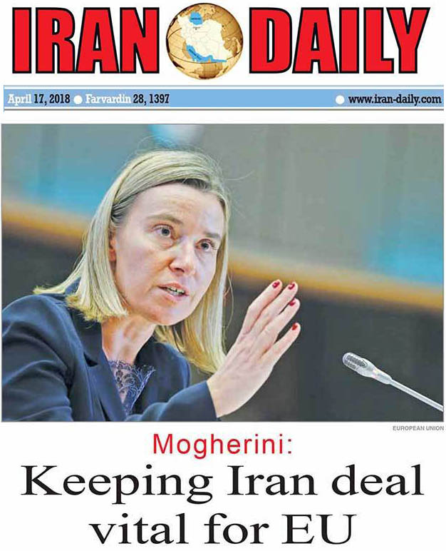 European Union defends Iran nuclear deal: no new sanctions
