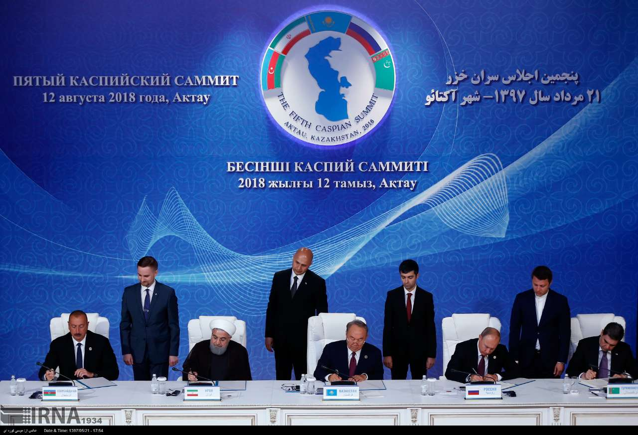 Iran's look at the Caspian Sea is security oriented