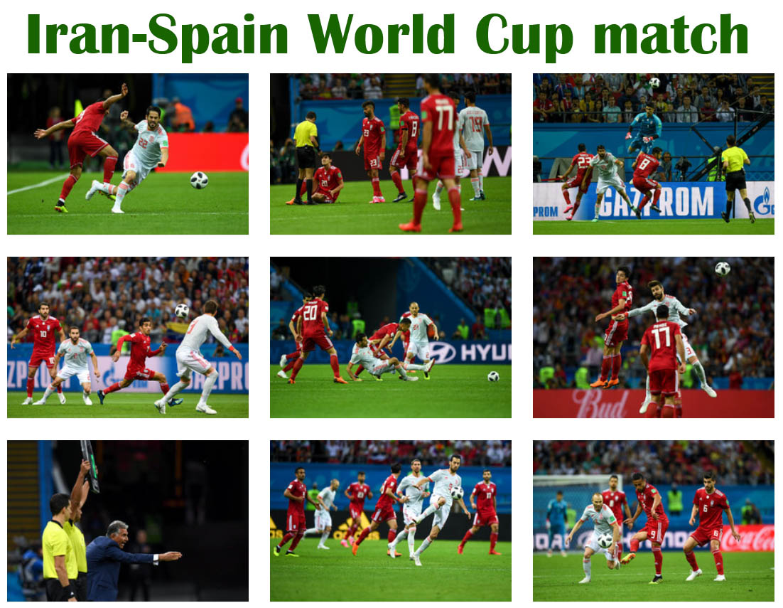 Iran keeps World Cup dream alive after losing heartbreaker to Spain