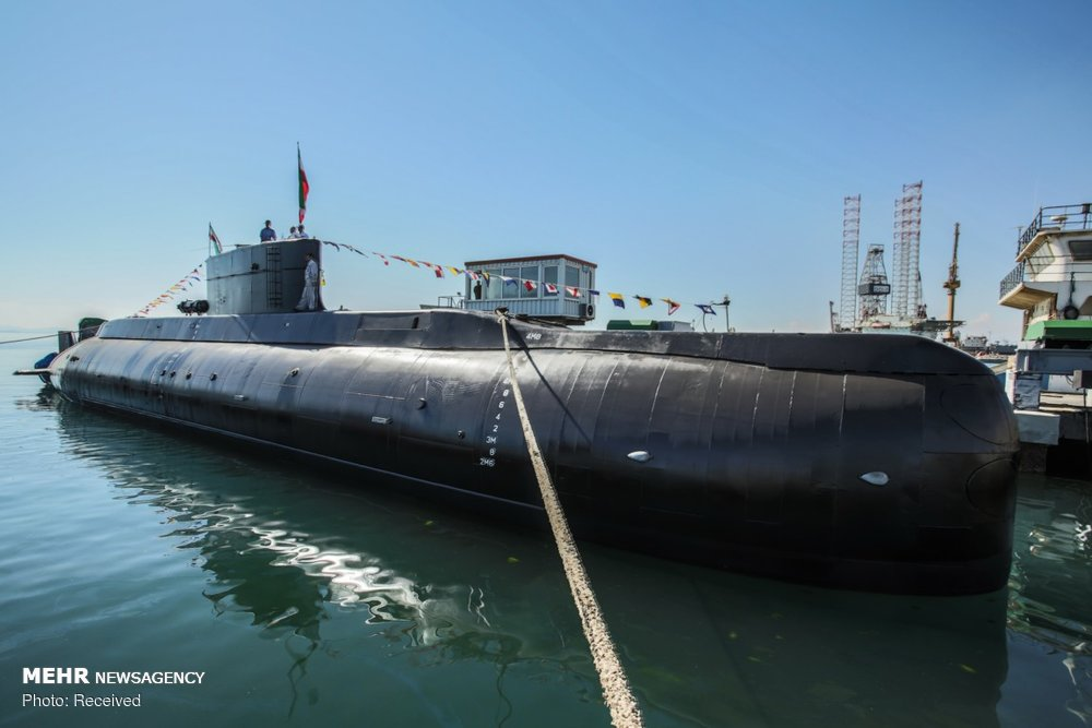 Iran Launches New 'Fateh' Submarine, Capable Of Firing Cruise Missiles